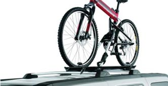 Roof-Mounted Bicycle Carrier – Wheel Mount