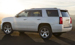 The 2016 Tahoe sculpted body panels and confident